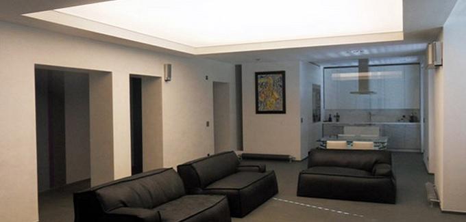 Luci soffitto - posizionare le luci in casa - Tensocielo
