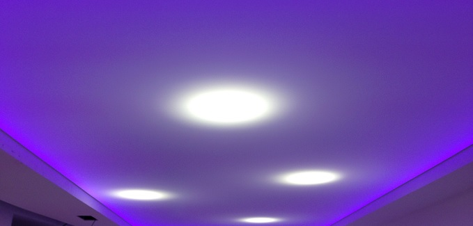 trasformare un soffitto in cartongesso in un soffitto teso tensocielo