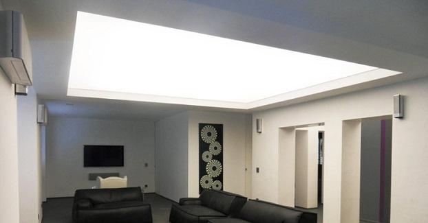 Soffitto basso illuminazione per ambienti più ampi