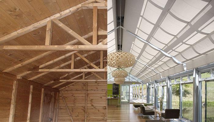 Soffitti In Legno Design : Soffitti mansardati in legno vantaggi e idee di design